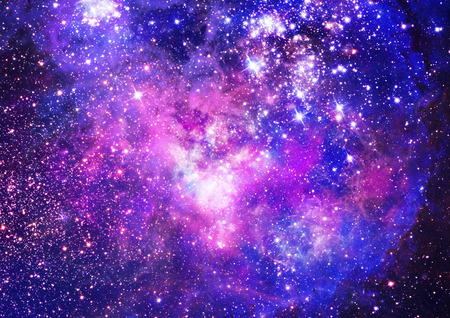 Small part of an infinite star field of space in the Universe Stock fotó - 27538070