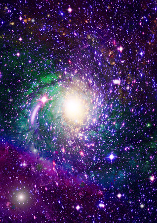 Small part of an infinite star field of space in the Universe   Elements of this image furnished by NASA