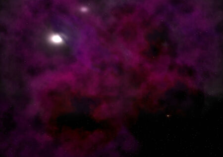 congestion: Star field in space a nebulae and a gas congestion.