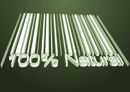drow: 100 percent Natural barcodes drow as backgraund Stock Photo