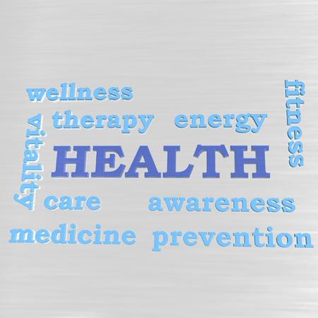 human health: Algunas palabras que asocian con la salud humana como fondo