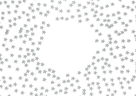 belongings: Holidays background with stars and a space for your message. Stock Photo