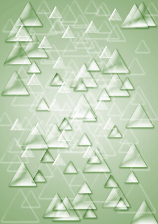 luster: Abstract background consisting of set of shining triangles