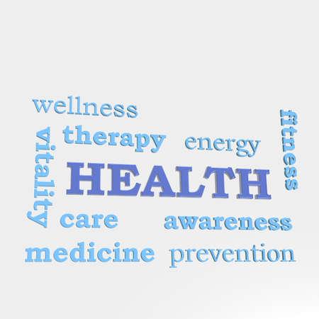 human health: Algunas palabras que asocian con la salud humana