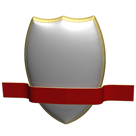 Image of a sheild, as concept of information security and protection of communications Stock Photo