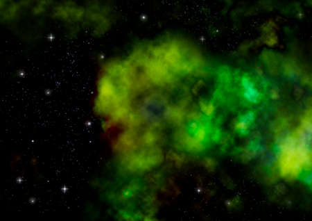 nebulae: Star field in space a nebulae and a gas congestion.