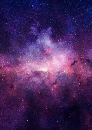 Petite partie d'un champ d'�toiles infinie de l'espace dans l'Univers.