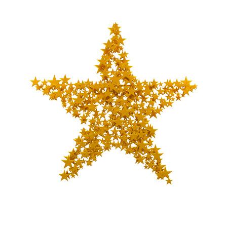 big star: The big star consisting of a set of small stars.