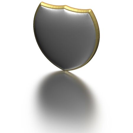 sheild: Image of a sheild as concept of information security and protection of communications