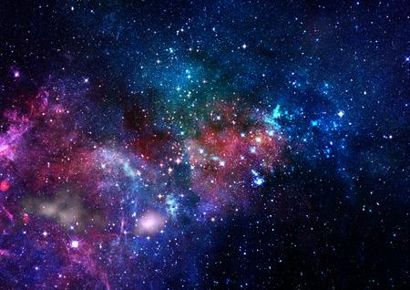 universum: Kleinen Teil eines unendlichen Sterne Bereich der Raumfahrt im Universum.