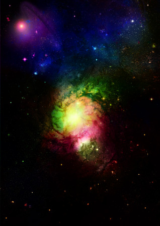 astral: Small part of an infinite star field of space in the Universe. Elements of this image furnished by NASA.