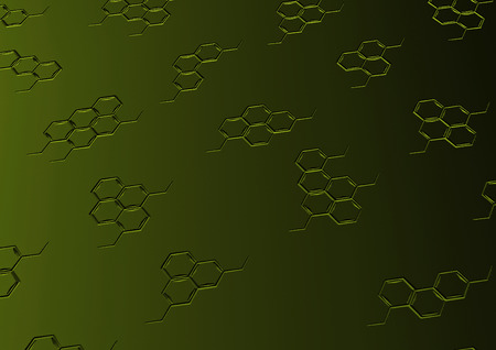 complexity: Background with structural chemical formulas. Concept of a chemical background.
