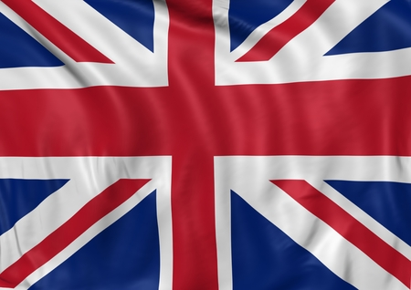 flag icons: Image of a waving flag of UK