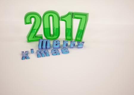 Buon Natale 3d.Immagini Stock Buon Natale 2017 Astratto 3d Render Image 64828397