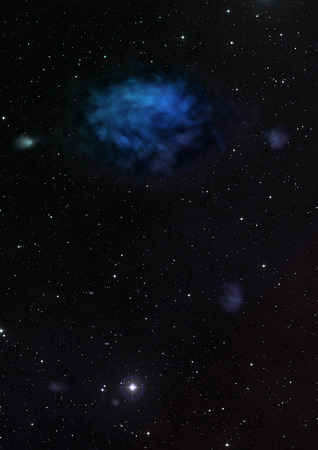 nebulae: Star field in space a nebulae and a gas congestion. Elements of this image furnished by NASA .