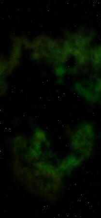 distant: Star field in space and a nebulae Stock Photo