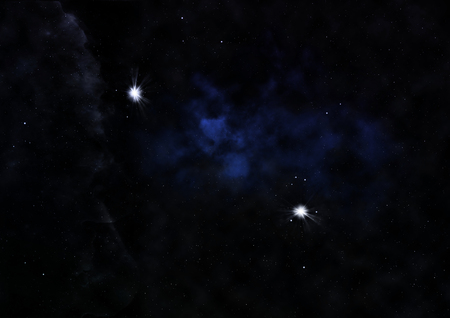 Small part of an infinite star field of space in the Stock Photo
