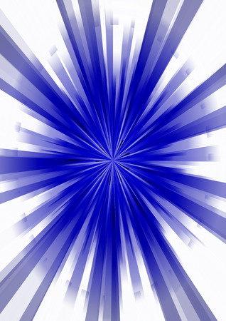 Abstract star burst retro background. 3D illustration. Stock fotó