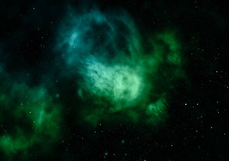 Star field in space a nebulae and a gas congestion. Stock fotó - 129201316