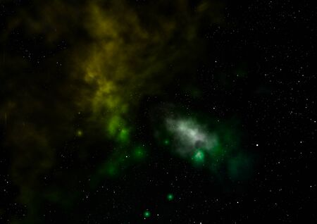 Star field in space a nebulae and a gas congestion. Stock fotó - 129201318