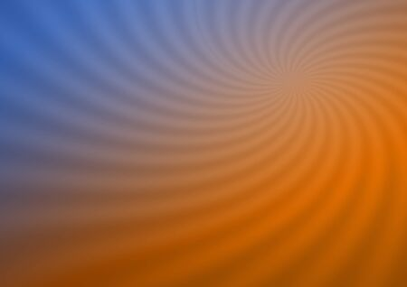 Swirling radial sunburst background. 3D illustration.