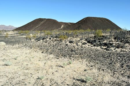 Amboy Crater is an extinct cinder cone that last erupted in California 10,000 years ago.