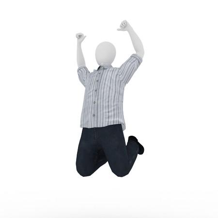 3d human jumping