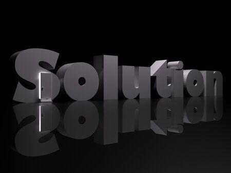 The door to solution