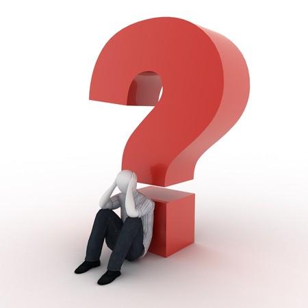 3d human: 3d humanos con la pregunta