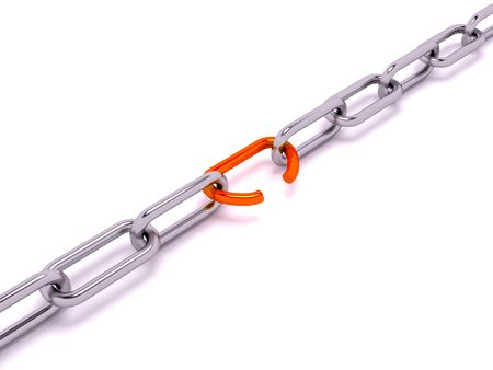 unleashed: Chain witn one breaking link