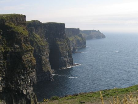 moher: Cliffs of Moher Stock Photo