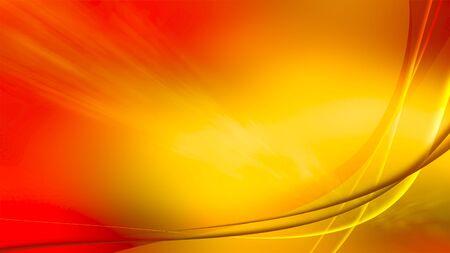 Red Fiery Aurora Design. 4K screen resolution