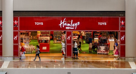 retail therapy: Shot of Hamleys Toy Store, one of the worlds most famous Editorial