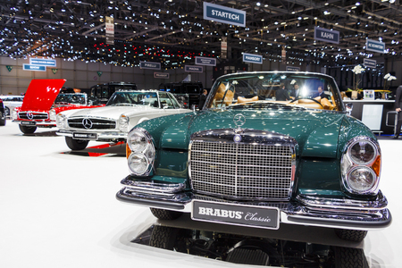 Three Classic Mercedes bearing the Brabus name