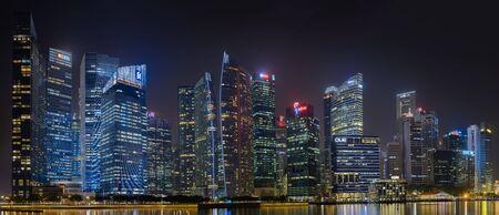 SINGAPORE - CIRCA 2016: Downtown Singapore