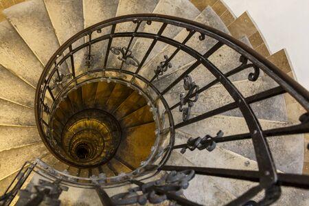 Long Vantage Spiral Staircase