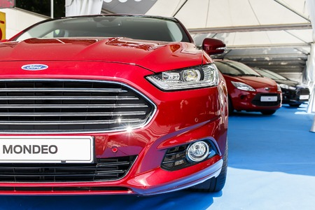 BARCELONA, SPAIN - MAY 2015: Ford Mondeo Fusion