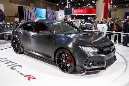 Vancouver - Canada, Circa 2017: New Honda Civic