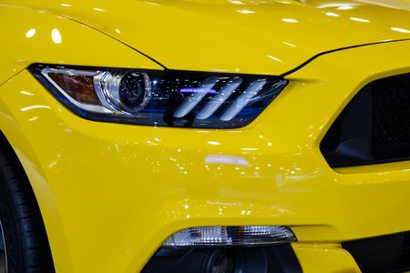Modern Car Headlight 版權商用圖片