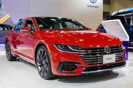 Vancouver, Canada - March 2019 : VW Arteon, taken at 2019 Vancouver Auto Show