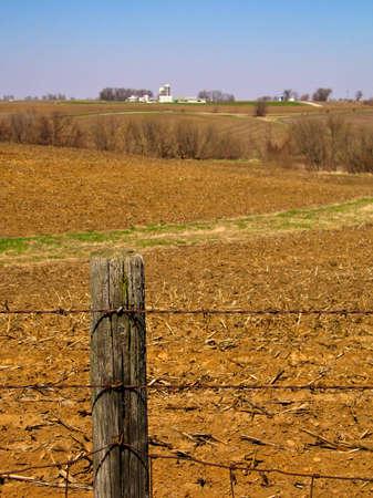 fencepost: Farmland Fencepost