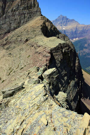 Continental Divide, Pitamakan Pass, Two Medicine District, Glacier national park, montana