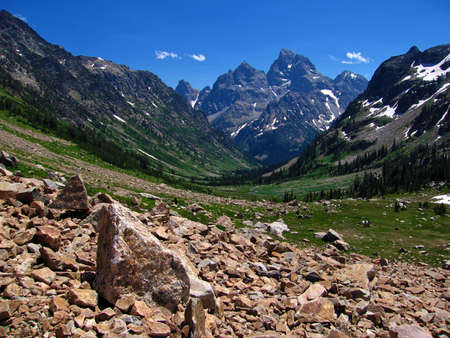 North Cascade Canyon, Teton Crest Trail, Grand Teton national park, wyoming