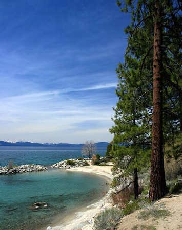 Tahoe shoreline, Lake tahoe, West Shore, Nevada photo