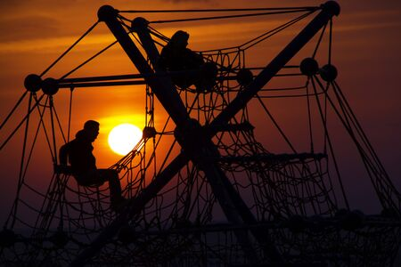humane: Sunset Stock Photo