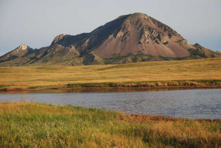 dakota: bear butte mountain, south dakota