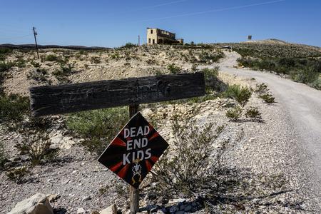 abandon: Terlingua Ghost Town ruin buildings mining abandon