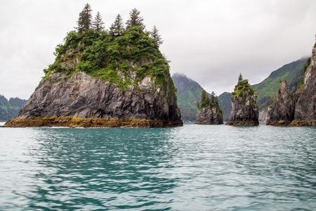 fjords: Foggy Day, Kenai Fjords National Park, Alaska, USA
