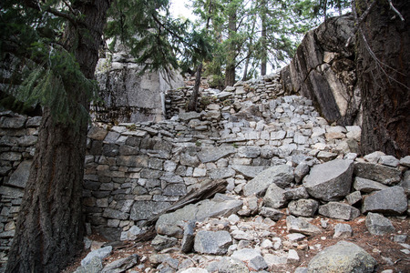 jmt: Yosemite Falls mist trail to half dome nationl park