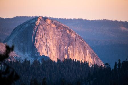 muir: View along john muir trail Yosemite National Park.